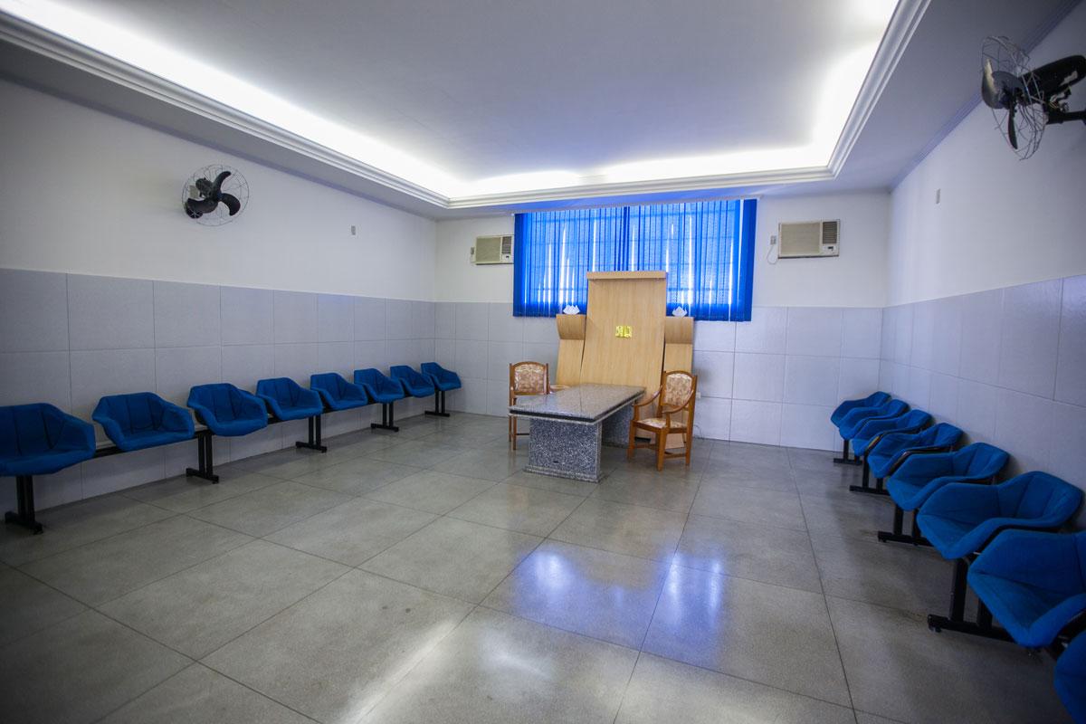 3 salas de velório climatizadas